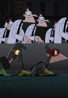 Phineas y Ferb: La noche de los farmacéuticos vivientes