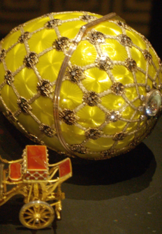 The World's Most Beautiful Eggs: The Genius of Carl Faberge