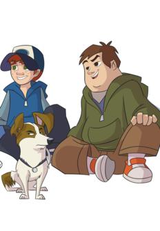 Cuatro amigos y medio