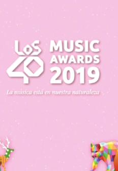 Los 40 music awards 2019