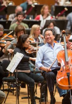 Yo-Yo Ma Mariss Jansons et l'Orchestre de la Radio bavaroise