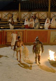 La ciudad perdida de los gladiadores