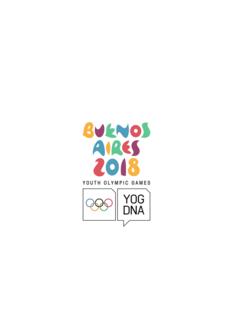 Juegos Olimpicos De La Juventud 2018 Programacion Tv