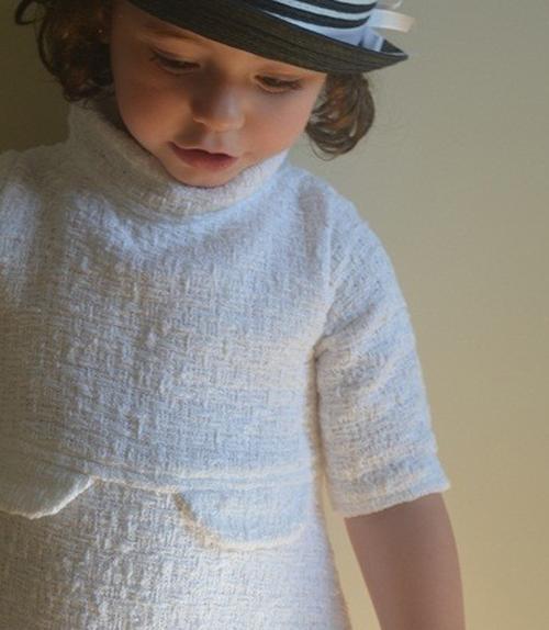 vestido chanel niña