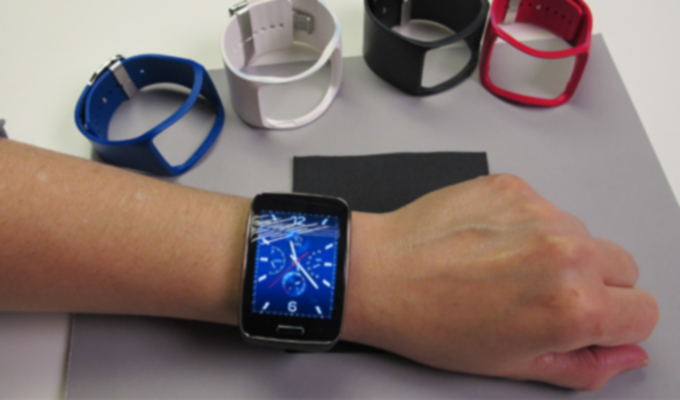 El smartwatch Gear S con sus pulseras