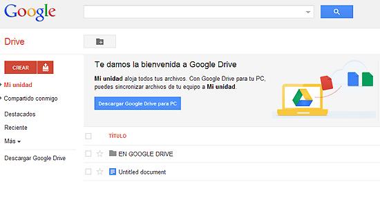 descargar google drive para pc