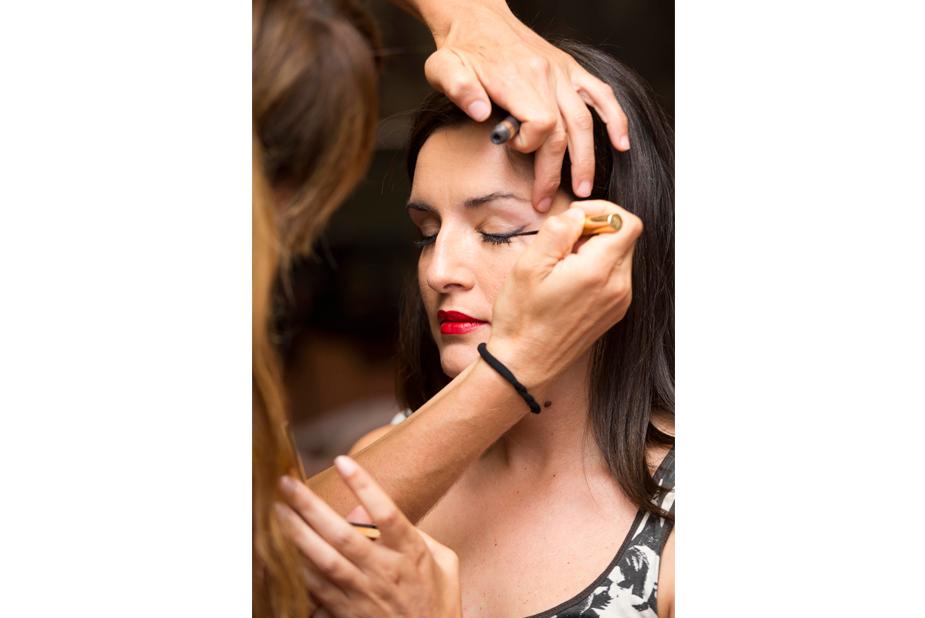 Maquilladas y peinadas para la gran cita de Yo Dona