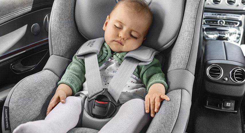 recien nacido silla de coche