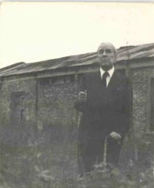Jorge Luis Borges, delante de la cámara
