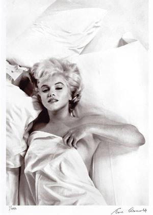 Una de las instantáneas de Marilyn tomadas por la fotógrafa de Magnum Eve Arnold.