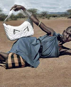Una de las fotos de la campaña publicitaria llevada a cabo por la ONG Cordaid Mensen in Nood