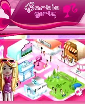 El mundo virtual de BarbieGirl.