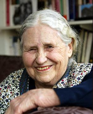 Doris Lessing. FOTO: AP.