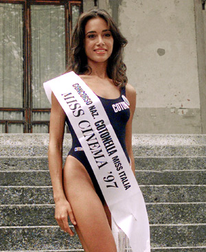 La Miss Italia 1997, Mara Carfagna. FOTO: Luca Bruno