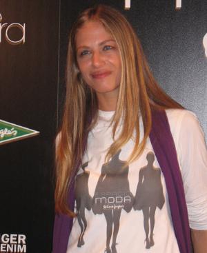 Martina Klein será una de las 'top' que desfilarán en el 'Espacio Moda'. FOTO: María Vedia.