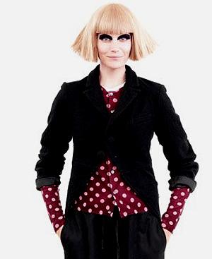 Uno de los diseños de Comme des Garçons para H&M