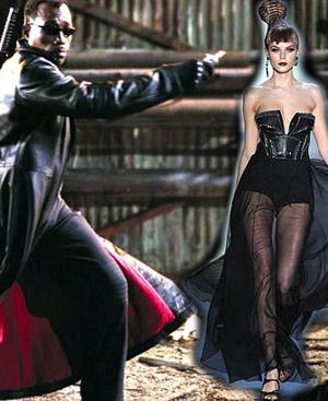 El protagonista de 'Blade' bien podría inspirarse en este diseño de Dior.