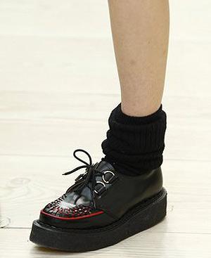 Los zapatos 'boogies'.