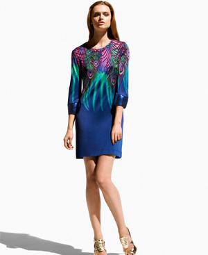 Uno de los diseños de la colección de Matthew Williamson para H&M.