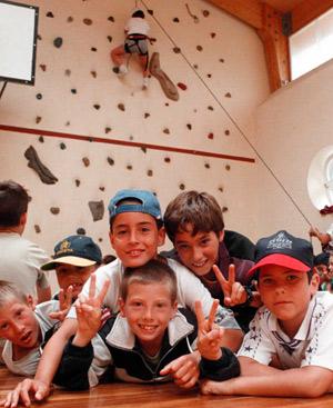 Niños en un campamento de verano. FOTO: EL MUNDO.
