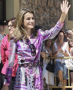 La Princesa de Asturias, en una de sus últimas apariciones públicas. FOTO: EFE