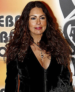 Jacqueline de la Vega durante la presentación del musical 'Fiebre del sábado noche'. FOTO: CARLOS BARAJAS.