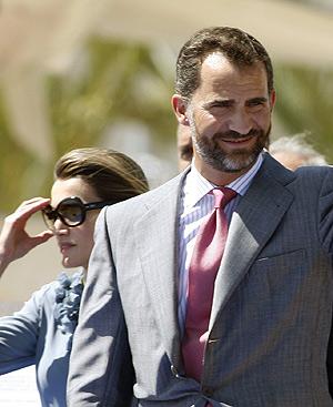 Los Príncipes de Asturias, en una imagen reciente. Foto: REUTERS