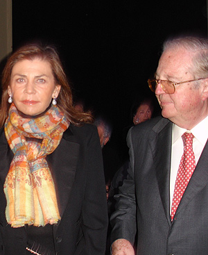 Marisa de Borbón y Enrique Loewe. FOTO: EL MUNDO