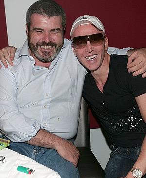 Lorenzo Caprile y Felipe Varela, los dos modistos preferidos de la Princesa de Asturias.