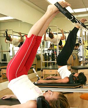 Mujeres en el gimnasio. FOTO: Jaime Villanueva