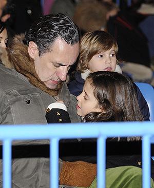 Jaime de Marichalar, en la cabalgata con su hija, Victoria Federica. FOTO: Gtresonline