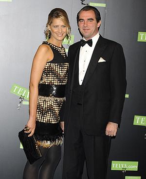 Nicolás de Grecia y su prometida, Tatiana Blatnik. FOTO: Gtresonline