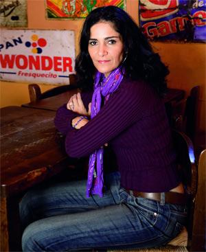 La periodista mexicana, Lydia Cacho. FOTO: EL MUNDO.