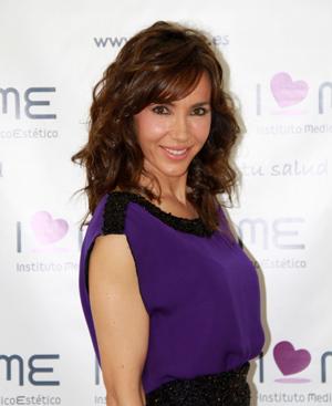 La presentadora Paloma Lago.