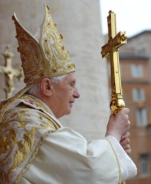 El Papa Benedicto XVI. FOTO: Gtresonline