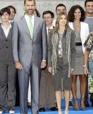 La Princesa de Asturias, con su conjunto de bermudas. FOTO: Gtresonline