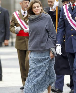 La Princesa de Asturias, en la Pascua Militar. FOTO: Gtresonline