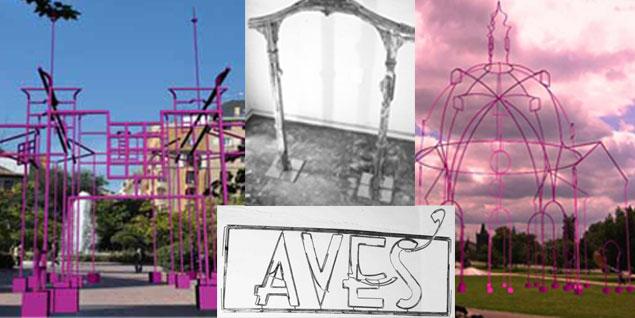 Juan Garaizabal expondrá en ARCO una puerta metálica que corresponde a la estructura que levantará en Madrid y un cartel que recupera los antiguos letreros del mercado de Olavide en Madrid (Fotos: Juan Garaizabal)
