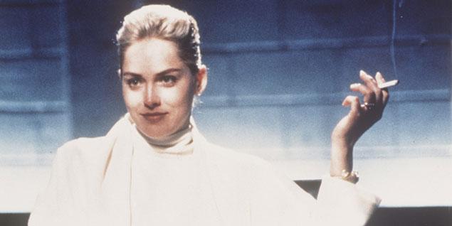 Una de las escenas más famosas de la película 'Instinto básico'