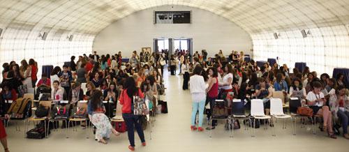 300 personas abarrotaron el auditorio de la Sala del Lector
