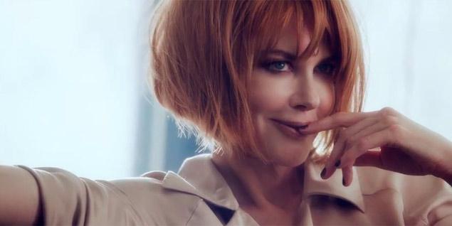 Nicole Kidman en un fotograma de la campaña otoño/invierno 2013 de Jimmy Choo.