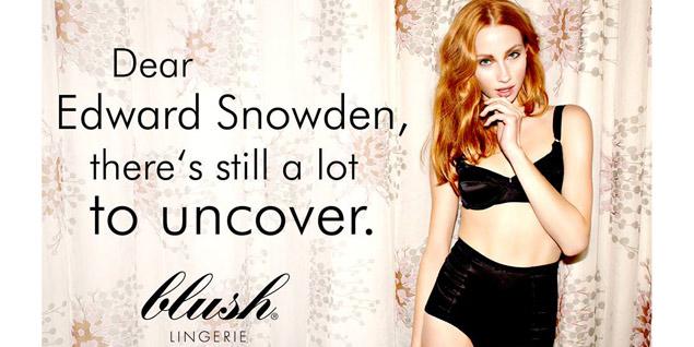 Campaña de Blush Lingerie (Foto: Facebook Blush Berlin).