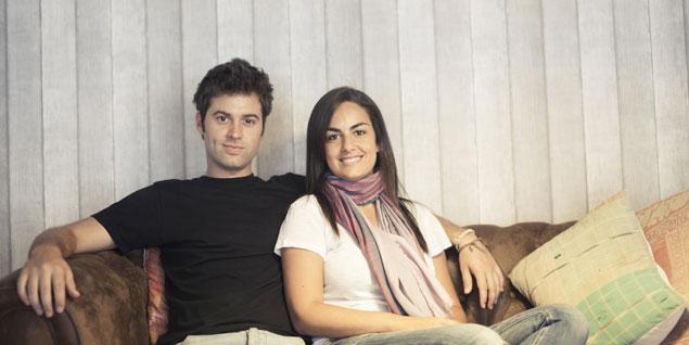 Javi y Angi, creadores de Mr.Wonderful.