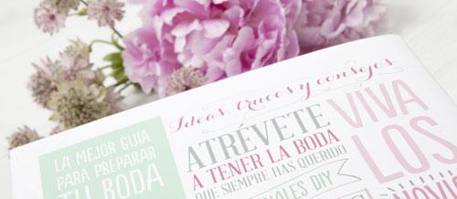 Foto: Contraportada de '¡Sí, Quiero! Ideas geniales para diseñar tu boda' . Innosolo Fotografía