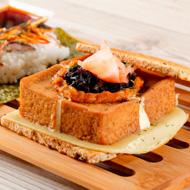 Hamburguesa de tofu y soja
