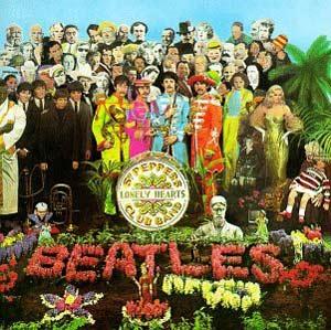 Portada del disco de los Beatles