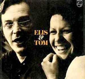 Carátula del disco de Tom Jobim y de Elis Regina