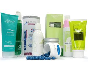 De izda a dcha: Reductor celulítico E'Lifexir; concentrado lipo-reductor para celulitis rebelde y especial vientre de Elancyl; Acelerador de la combustión celulítica CelluBlock de Yacel; Emulsión anticelulítica y scrub anticelulítico a base de bambú y azúcar de Bioclinic; Control celulítico Esenciall de Phergal; Tratamiento anticelulítico avanzado A+B de Farline; Emulsión anticelulítica con efecto reductor Lipo Paraderm.