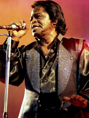 James Brown, el 'Padrino del Soul'.